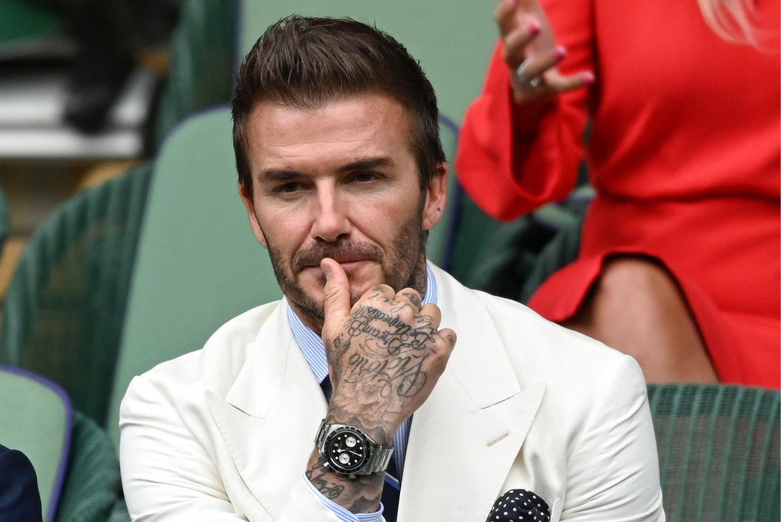 David Beckham: Neue Frisur im Stil der 90er