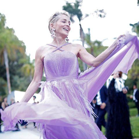 Die schönsten Looks der amfAR-Gala mit Sharon Stone + Co.