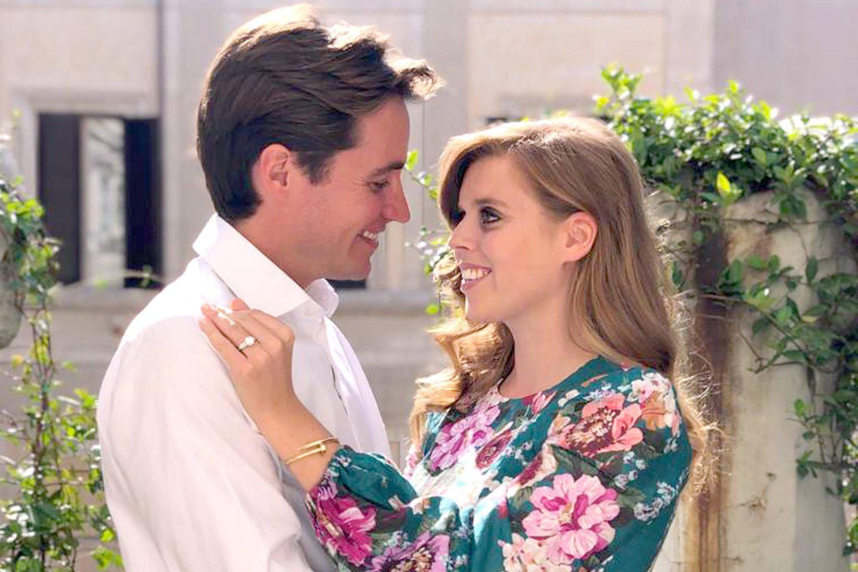 Edoardo Mapelli Mozzi und Prinzessin Beatrice gaben im September 2019 ihre Verlobung bekannt.