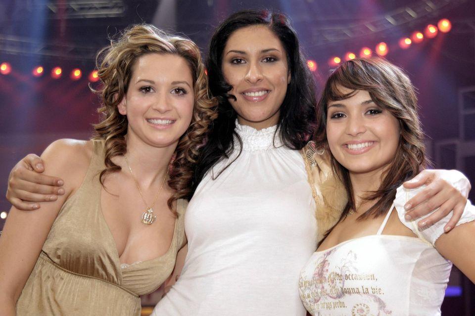 """Mandy Capristo, Senna Gammour und Bahar Kizil gewannen als """"Monrose"""" 2006 die Castingshow """"Popstars""""."""