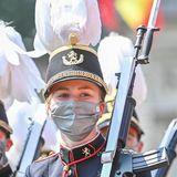 Aber hier marschiert nicht irgendwer: Die Offiziersanwärterin Prinzessin Elisabeth läuft dieses Jahrin der Parade mit.