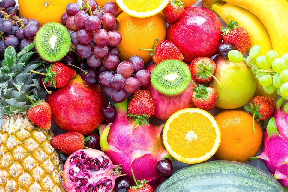 Verschiedene Früchte