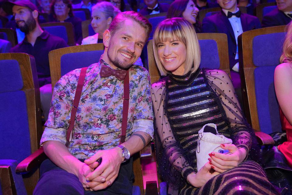 Jens Ackermann und Isabell Horn