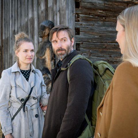 """Sturm der Liebe"": Christina Arends, Christoph Mory und Katja Rosin."