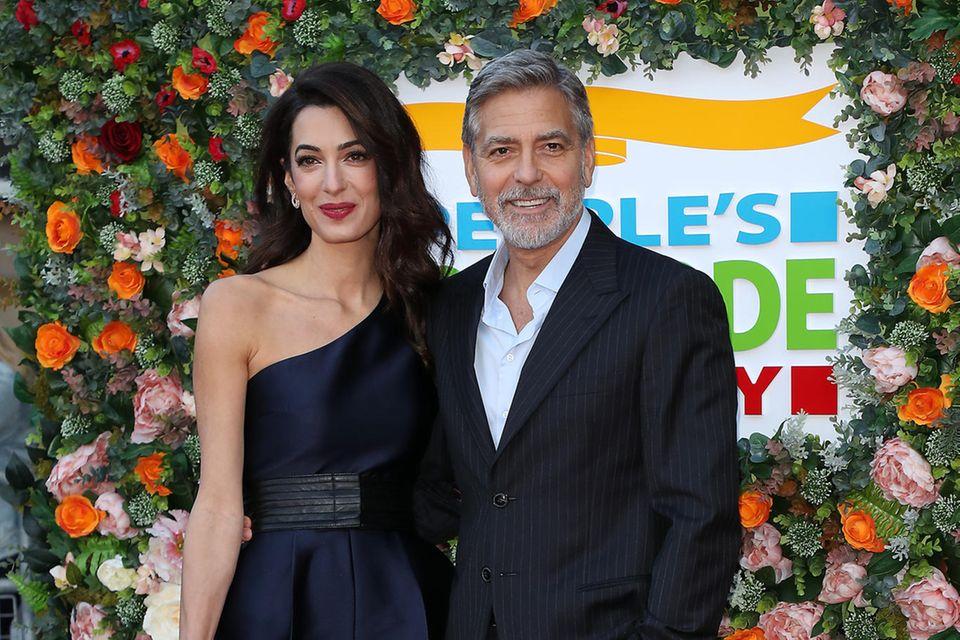 Amal nackt Clooney Amal Clooney's