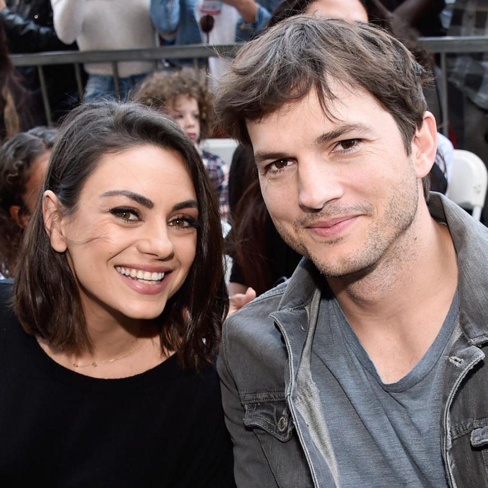 Mila Kunis + Ashton Kutcher