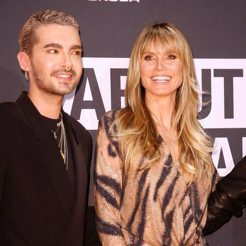 Bill Kaulitz und Heidi Klum