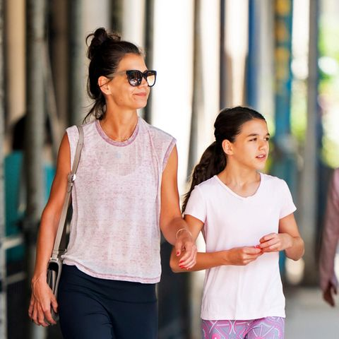 Katie Holmes: Mit ihrer Tochter bringt sie diesen Trend zurück