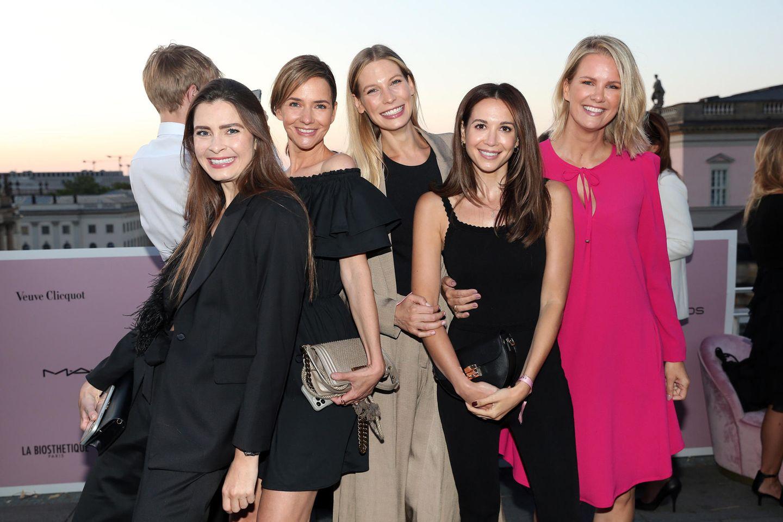 Frauen100 Veranstaltung: Mandy Capristo, Sarah Brandner , Monica Ivancan