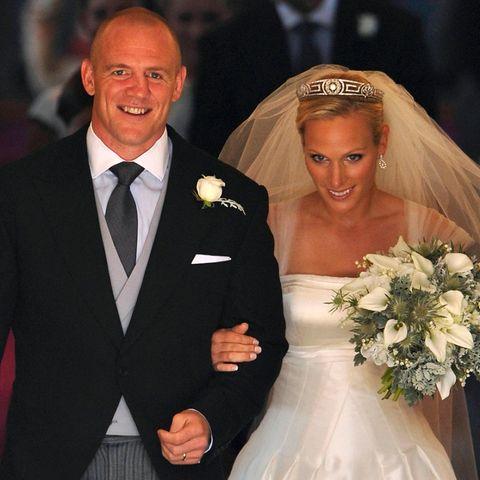Mike und Zara Tindall gaben sich am 30. Juli 2011 im Schottland das Ja-Wort.