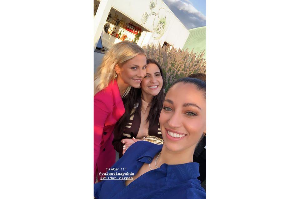 Frauen100: Chryssanthi Cavazi, Vildan Cirpan und Valentina Pahde feiern Female Empowerment
