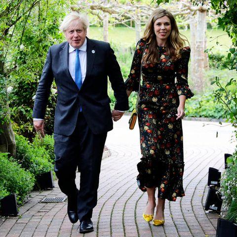 Boris Johnson und Carrie Johnson