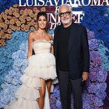 Auch Lenis Vater und Heidi Klums Ex, Flavio Briatore, zeigt sich auf dem Red Carpet. An seiner Seite: Elisabetta Gregoraci.