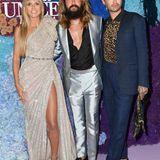 We are Family! Nicht nur Heidis verflossene Liebe ist Teil der Gala, auch ihr aktueller Ehemann Tom Kaulitz besucht die Veranstaltung gemeinsam mit Bruder Bill.