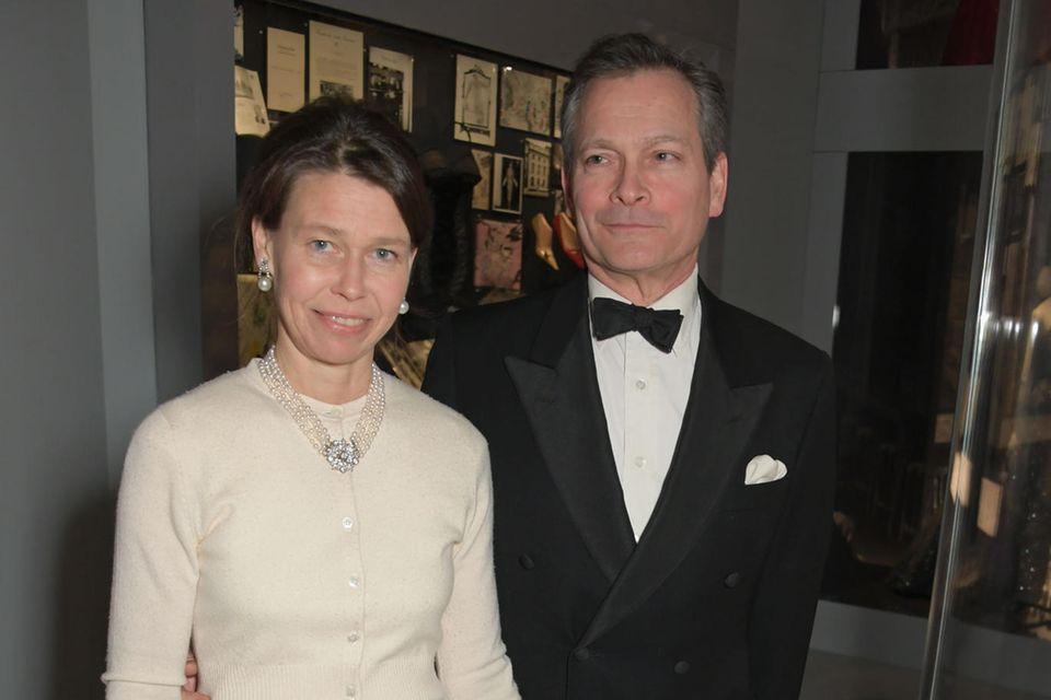 Sarah Chatto und Ehemann Daniel Chatto psoieren für die Fotografen.
