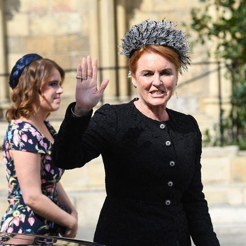 Sarah Ferguson und Prinzessin Eugenie