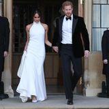 Meghan Markle und Prinz Harry verlassen das Windsor Castle nach ihrer Hochzeit.