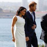 Meghan Markle und Prinz Harry bei einem offiziellen Auftritt in Australien.