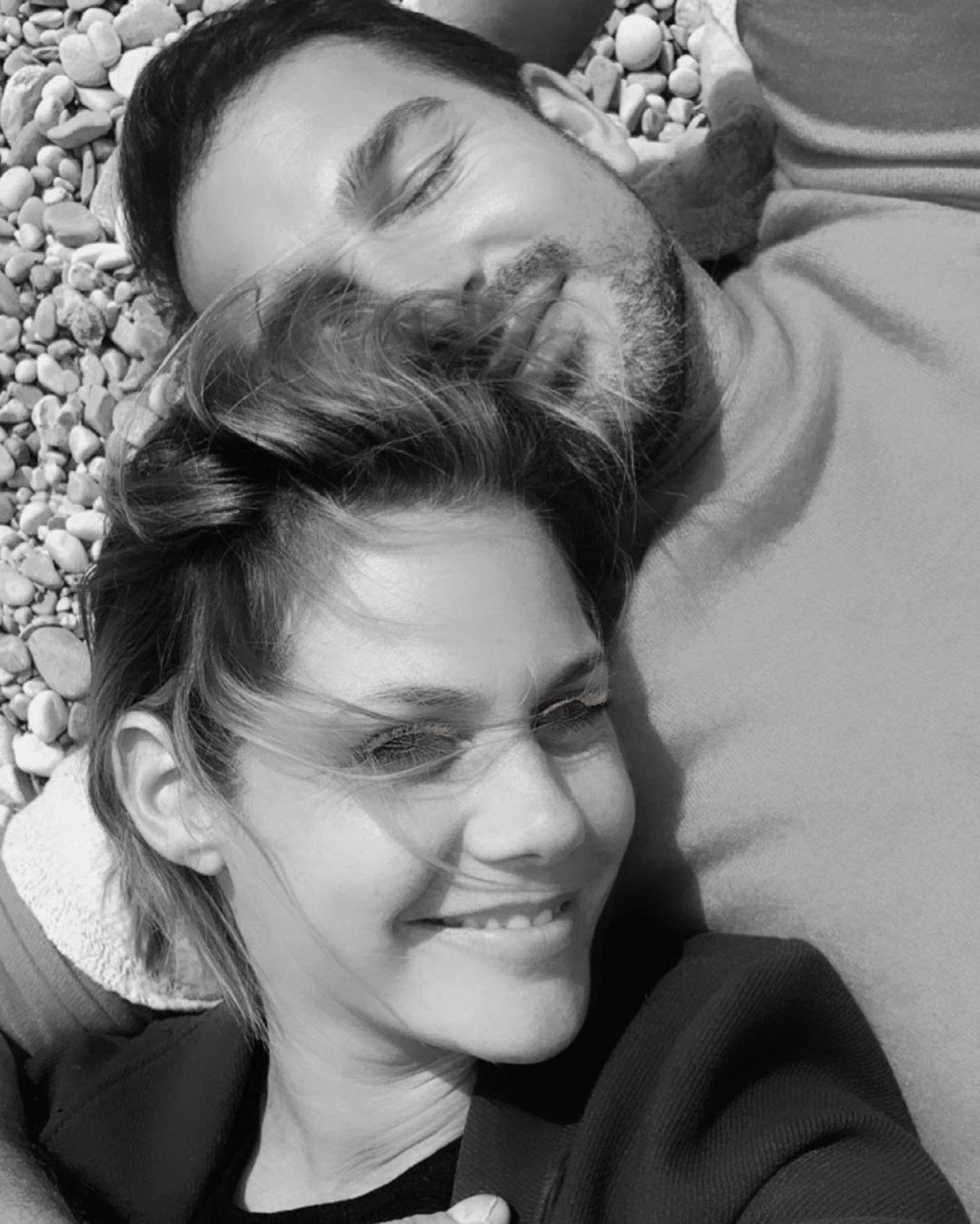 Mit ihrem ersten Pärchenbild auf Instagram sorgten Felicitas Woll und Benjamin Piwko für Begeisterungsstürme.
