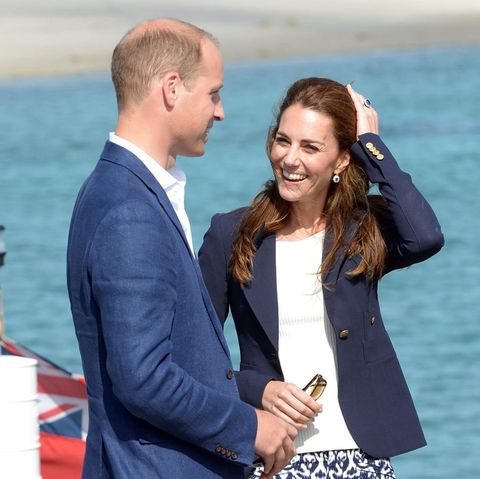 Prinz William und Herzogin Catherine im September 2016 bei einem offiziellen Besuch der Scilly-Inseln und Cornwalls
