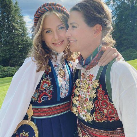 Leah Isadorah Behn und Prinzessin Märtha Louise