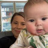 Bindi Irwin mit Tochter Grace Warrior