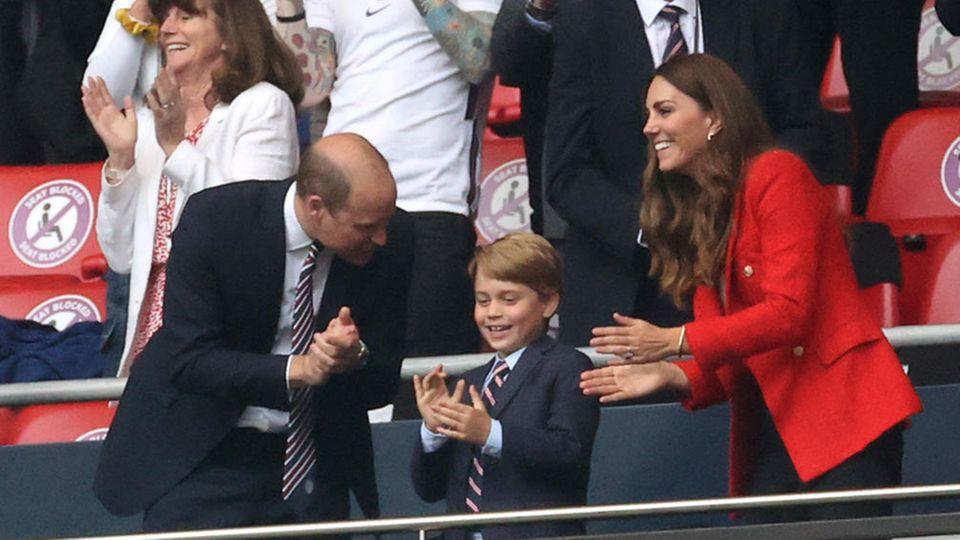 Prinz William, Herzogin Catherine und Prinz George