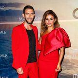 """Be der """"Remus Charity Night"""" in Palma de Mallorca ist der farbliche Dresscode ganz klar: Rot! Und Gastgeber Marcel Remus kann in seiner Villa jede Mengeillustre Star-Gäste willkommen heißen, wie hier Monica Cruz."""