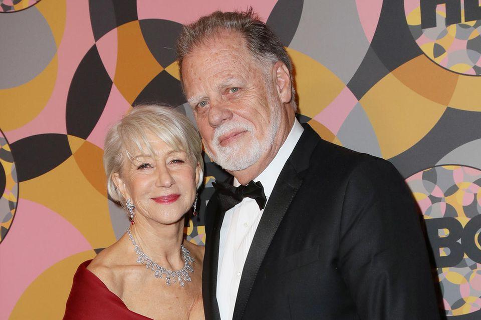 Helen Mirren und Taylor Hackfordfeiern nächstes Jahr Silberhochzeit. Liiert sind sie schon zehn Jahre länger
