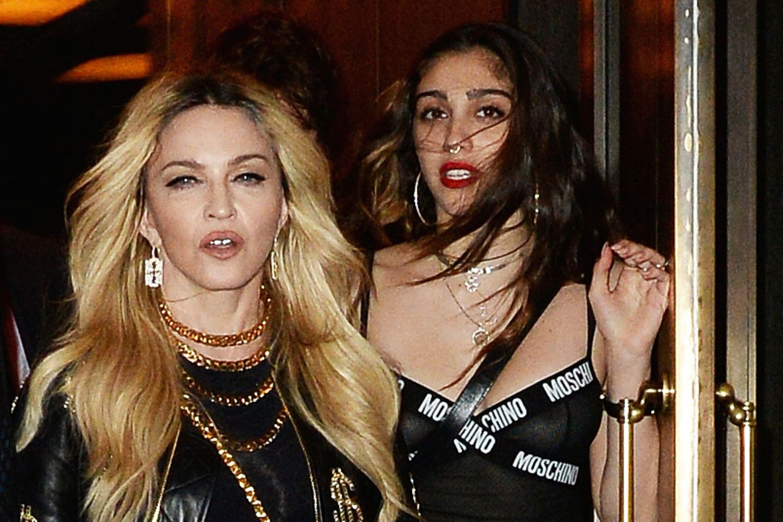 Madonna und Lourdes Ciccone Leon