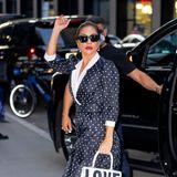 Lady Gaga zeigt sich stylisch in New York.