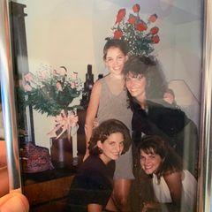Geschwistar: Katie Holmes mit Schwestern