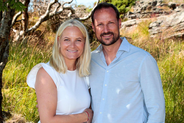 Kronprinzessin Mette-Marit und Kronprinz Haakon feiern am 25. August 2021 ihren 20. Hochzeitstag.