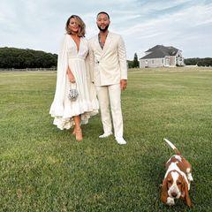 Familie John Legend+Chrissy Teigen: Geburtstagsfeier mit Obama