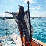 Urlaubsgrüße:Jana Schölermann auf Ibiza