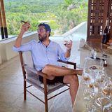 Elyas M'Barek trinkt Rum