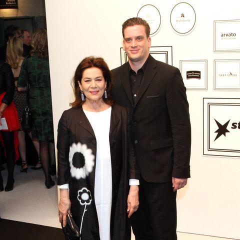 Hannelore Elsner und Dominik Elstner