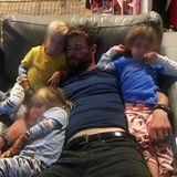 Chris Hemsworth mit seinen Kindern