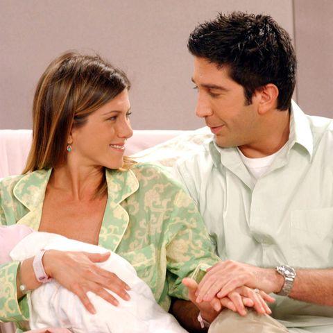 Jennifer Aniston und David Schwimmer spielten von 1994 bis 2004 das On-off-Paar Rachel und Ross.