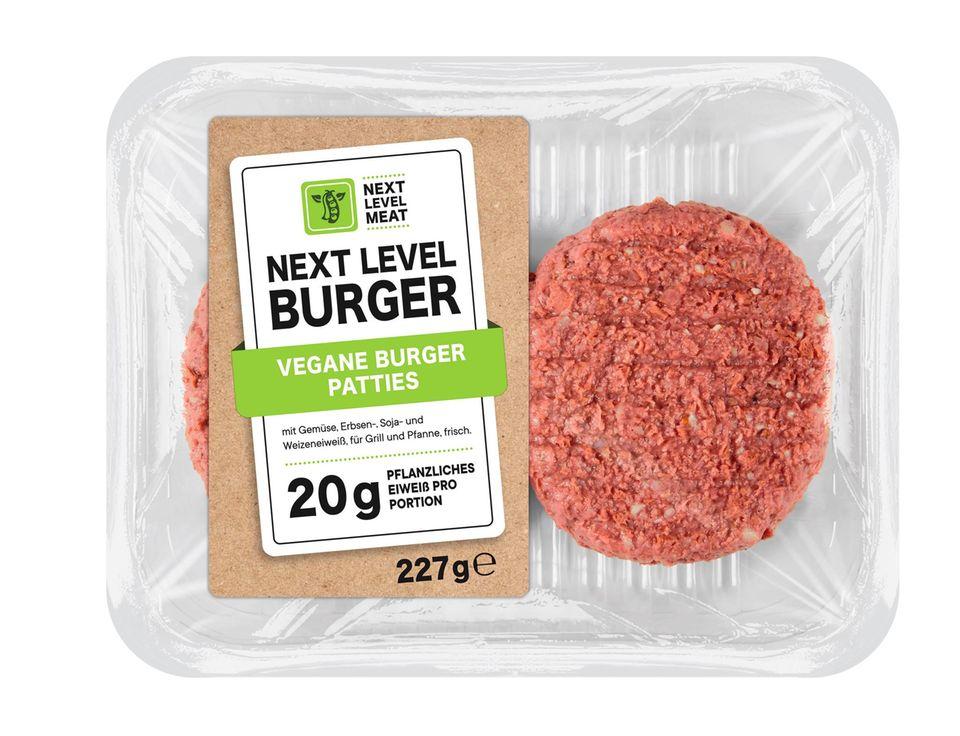 Next Level Burger von der Lidl-Eigenmarke Next Level Meat