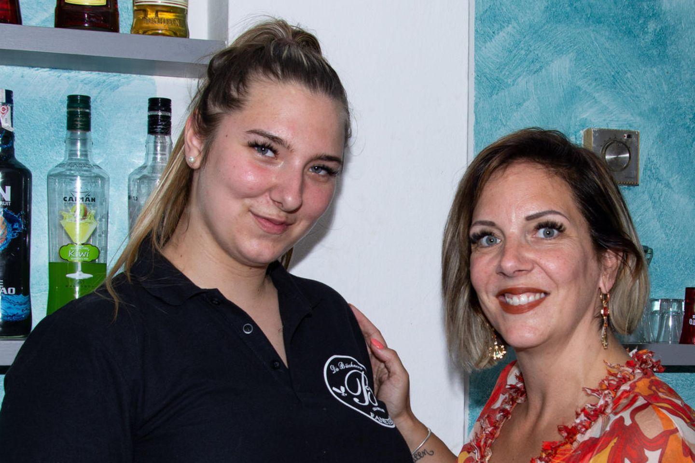 Daniela Büchner mit ihrer Tochter Joelina Karabas