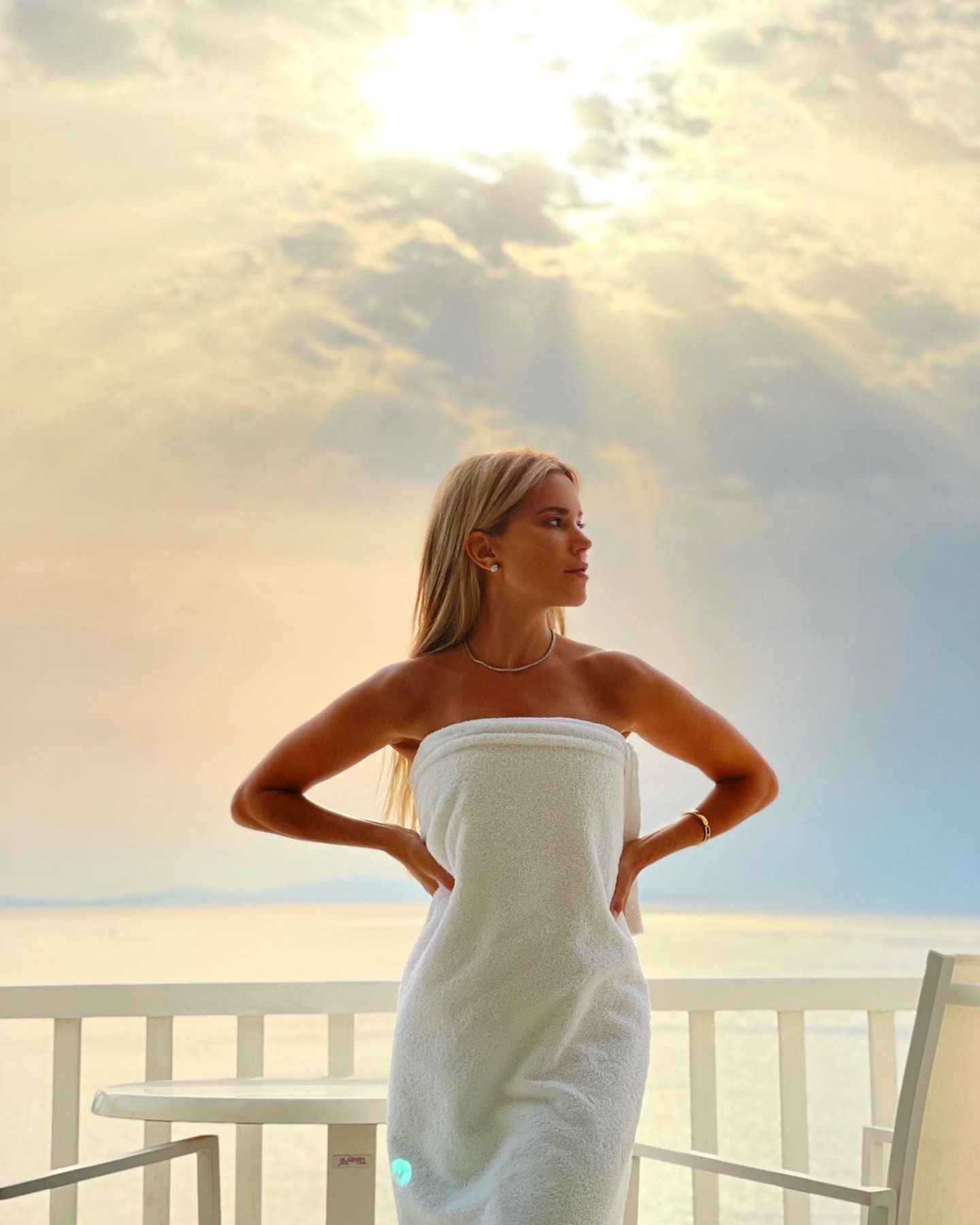 Sylvie Meis auf Mykonos