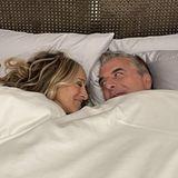 Sarah Jessica Parker und Chris Noth im Bett