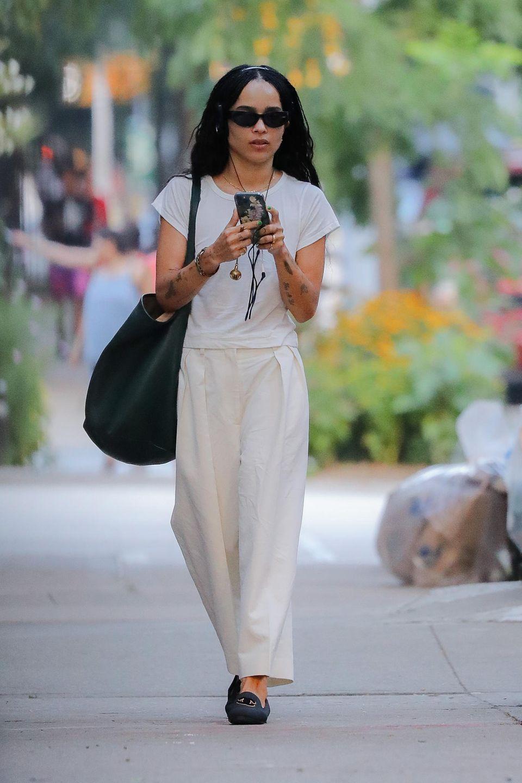 Gesichtet: Zoë Kravitz in New York