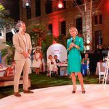 Wer sonst noch feiert: Wayne Carpendale und Uschi Glas als Moderatoren beim Raffaello Event