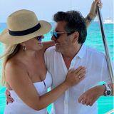Thomas Anders und Claudia schicken Urlaubsgrüße aus Formentera
