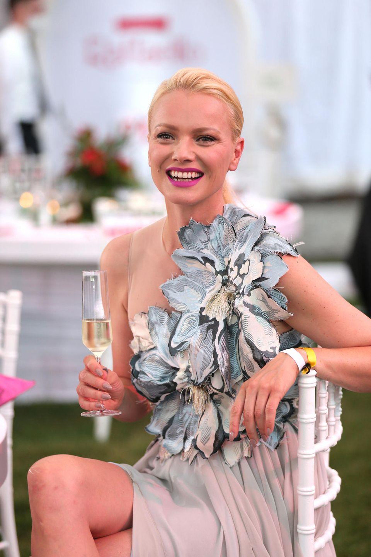 Wer sonst noch feiert: Franziska Knuppe beim Raffaello Summer Dinner
