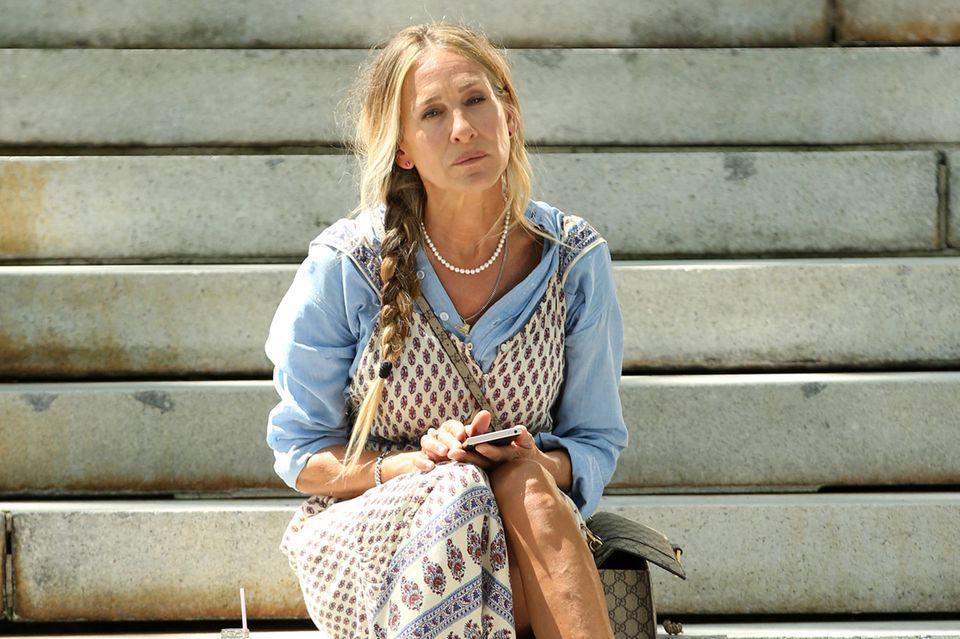 "Sarah Jessica Parker als ""Carrie Bradshaw"""