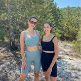 Isabella und Lucia Faber-Castell im Urlaub