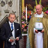 Jacob Högfeldt hält eine Fürbitte für sein Patenkind Prinz Julian. Der 41-Jährige ist ein alter Schulfreund von Prinz Carl Philip.